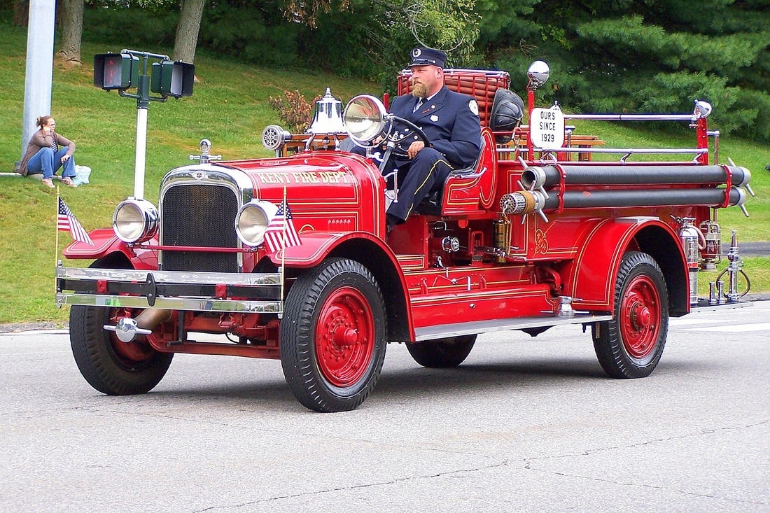 Kent's Antique Engine, a 1929 Seagrave.