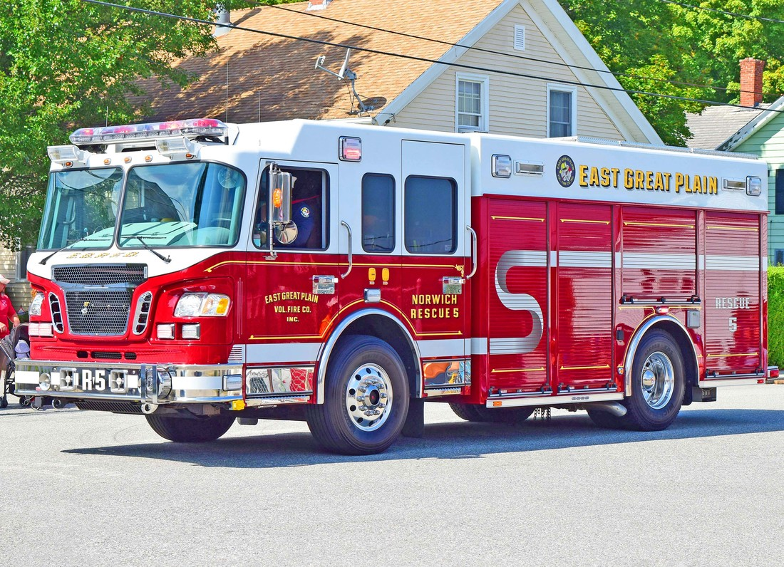 East Great Plain's Rescue 5, a 2010 Spartan.