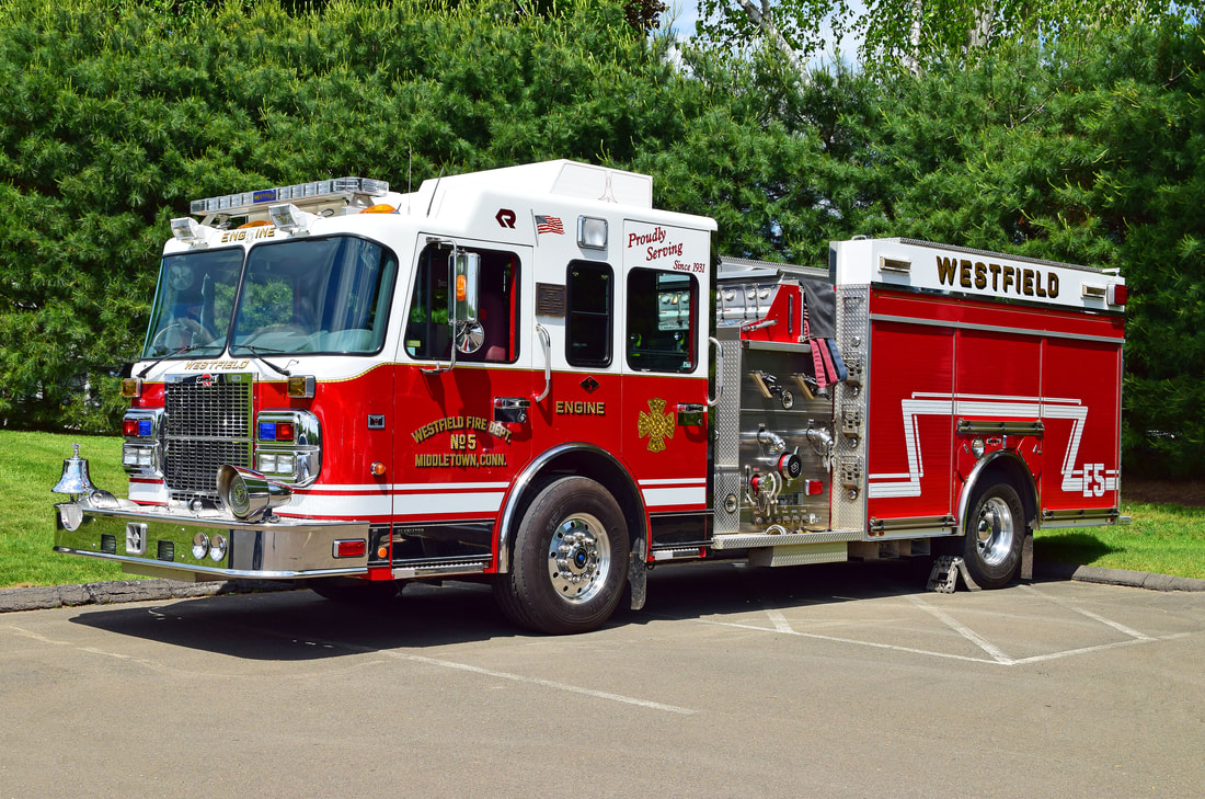 Westfield's Engine 5, a 1987 Spartan/General engine.