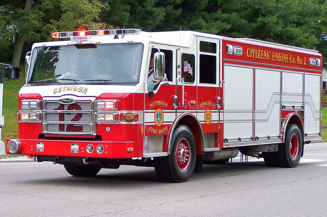 Seymour's Rescue 12,  a 2013 Pierce Velocity.
