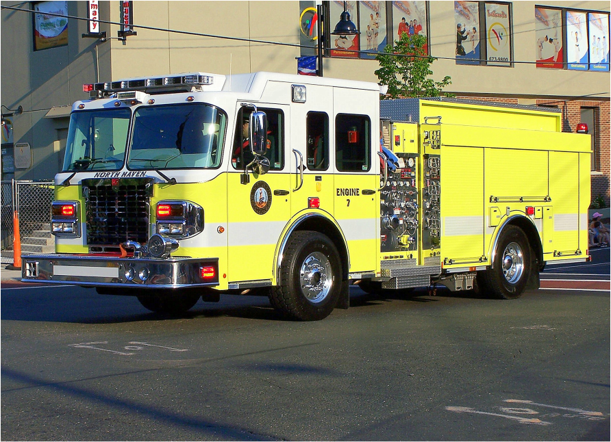 North Haven's Engine 7, a 2012 Spartan/Smeal engine responding out of their Northeast (Vol.) Station.