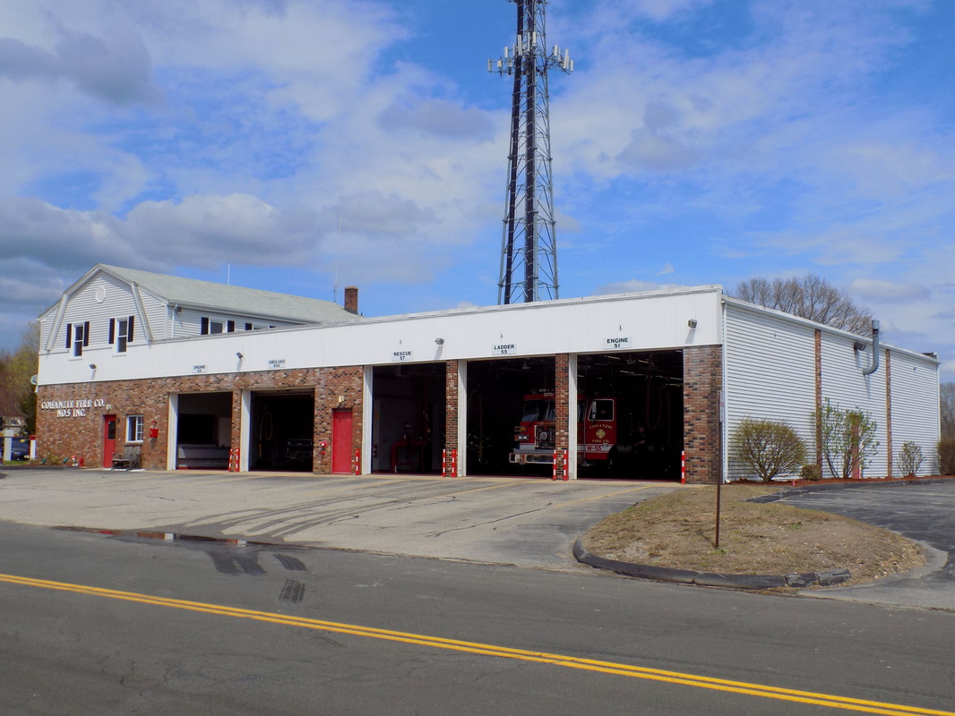 Cohanzie's fire station, located at 53 Dayton Road, Waterford, CT.