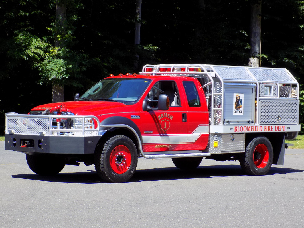 Ford F-550/Firematic Brat purchased from Blue Hills in 2015.