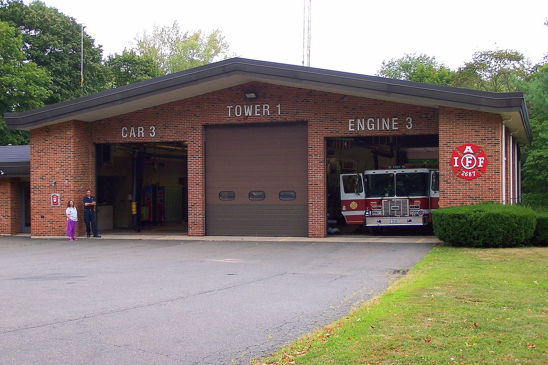 Hamden's Station 3, located at 	421 Hartford Turnpike in Hamden, CT. Stationed here are Engine, Tower 1, Car 3, and Haz-Mat 1.