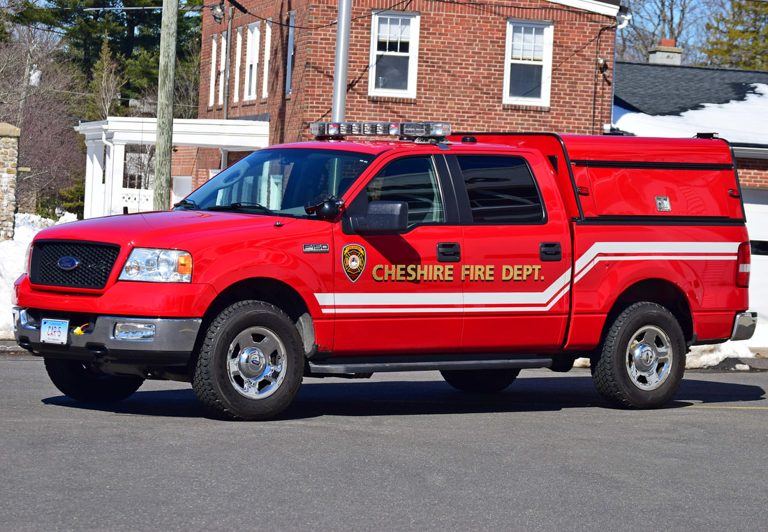 Cheshire's Car 5, a 2004 Ford F-150 pickup.
