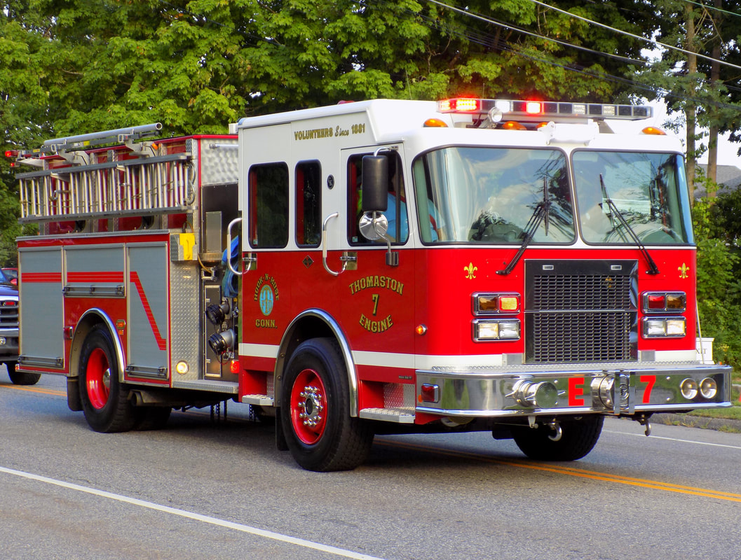 Thomaston's Engine 7, a 2006 Spartan/Gowans Knight.